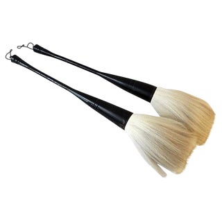 Large Asian Brushes - A Pair
