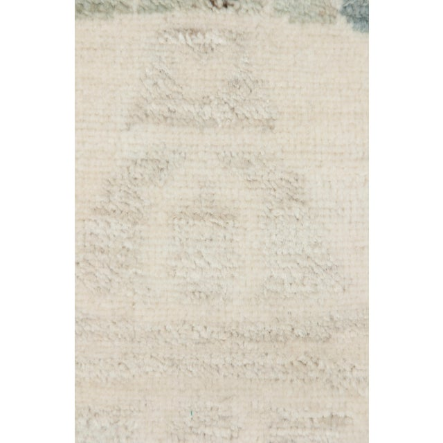 """New Oushak Hand Knotted Area Rug - 4'1"""" x 6' - Image 3 of 3"""