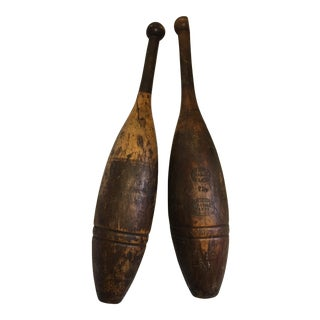 Kehoe Indian Clubs - A Pair