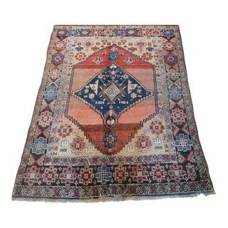 Vintage Persian Bidjar Rug - 4' x 5'