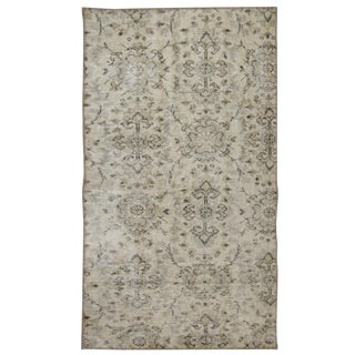 Linen Color Overdyed Carpet | 2'11 x 4'11 Rug