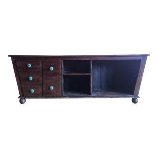 Rustic Asian Inspired Sideboard