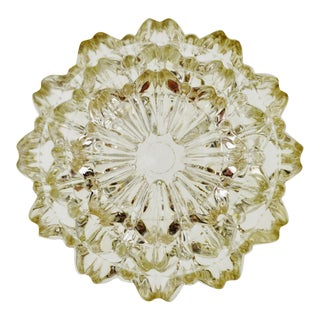 Vintage Glass Nesting Ashtrays - Set of 3