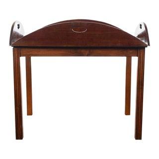 18th C. Georgian Mahogany Butler's Tray Table