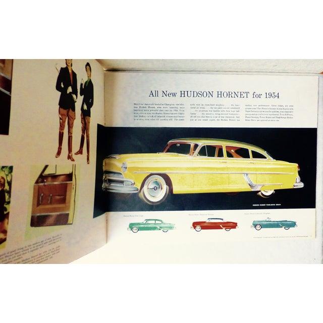 1954 Hudson Car 16-Page Brochure - Image 7 of 7