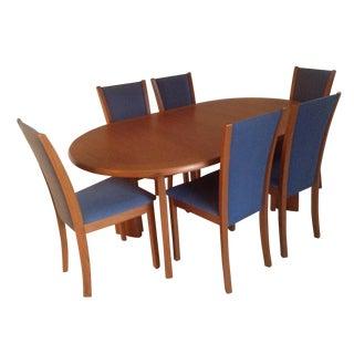 Skovby Contemporary Teak Dining Set