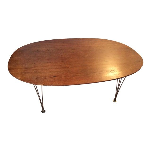 Piet Hein Bruno Mathsson Ellipse Dining Table - Image 1 of 8