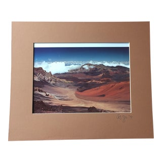 Vintage 1974 Maui, Hawaii Signed Photograph
