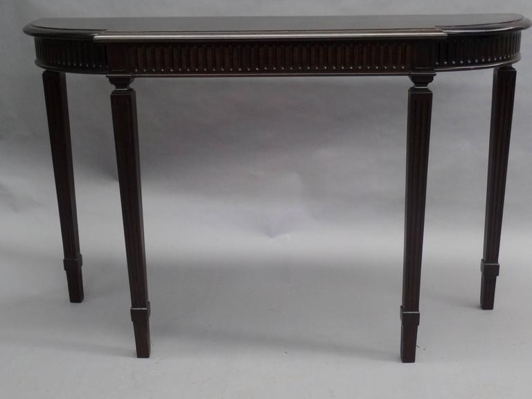 Italian Modern Neoclassical Console Table In The Manner Of Paolo Buffa    Image 3 Of 9