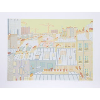 Marion McClanahan - Paris Roofs Serigraph