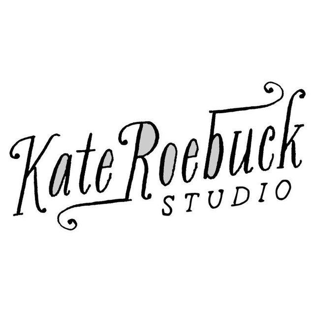 "Kate Roebuck ""Tiger Rug"" Watercolor Painting - Image 2 of 3"