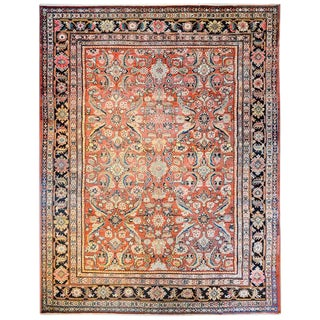 Extraordinary Early 20th Century Mahal Rug