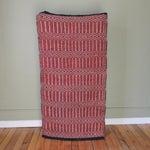 "Image of Vintage Handwoven Red Wool Rug - 2'7"" x 5'1"""