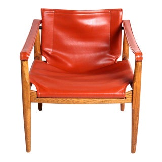 Douglas Heaslet for Brown & Saltman Mid-Century Safari Chair