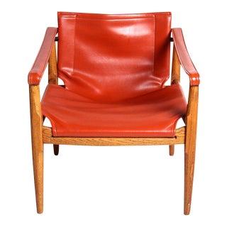 Douglas Heaslet for Brown & Saltman Mid-Century Safari Chair