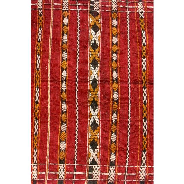 "Maroc Tribal Rug: Moroccan Berber Tribal Kilim Rug - 2' 10"" X 4' 6"""