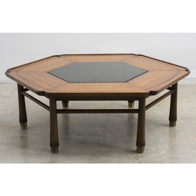Drexel Heritage 1968 Hexagonal Coffee Table Chairish