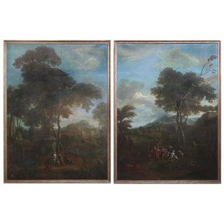 Large Scale Flemish Paintings by Phillipe de Hondt (1683-1741)