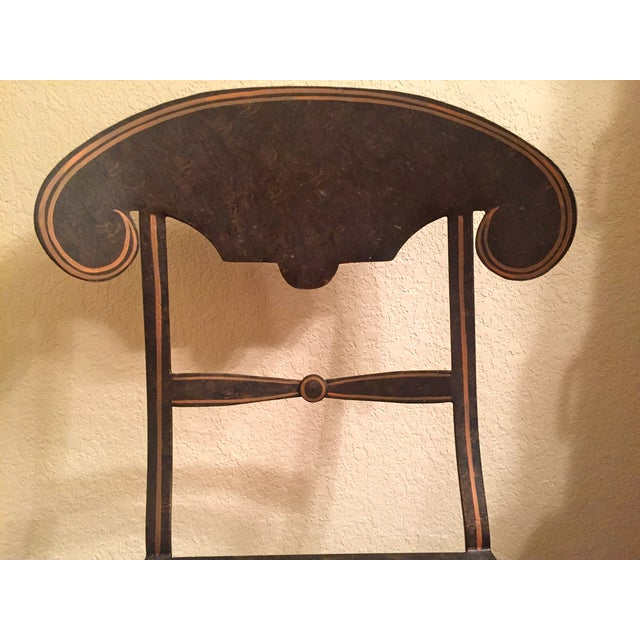 Image of Designer Metal Accent Chair