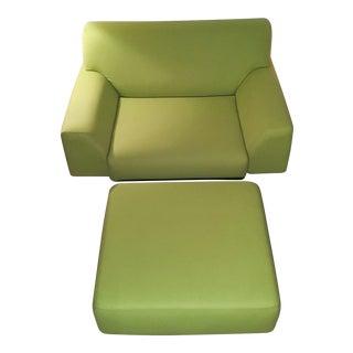 Cini Boeri Lounge Chair & Ottoman for Knoll