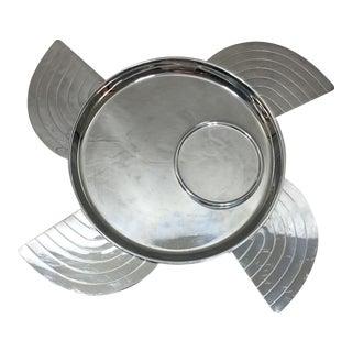 Lurelle Guild Chase Art Deco Canape Plates - S/4