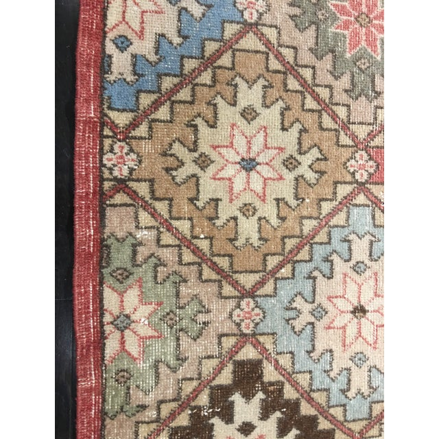 "Bellwether Rugs Vintage Turkish Zeki Muren Rug - 6'6""x10' - Image 9 of 9"