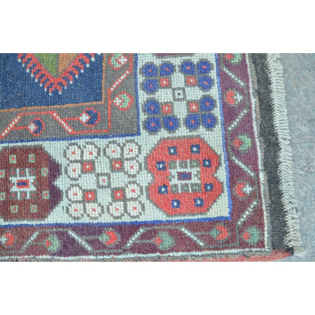 Vintage Turkish Handmade Rug - 4′1″ × 7′8″ - Image 6 of 6