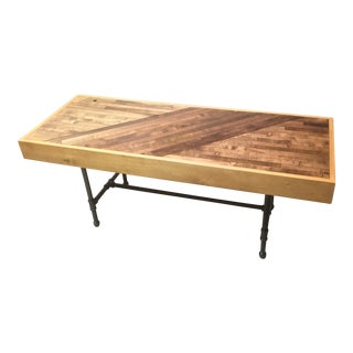 Bowling Alley Pipe Coffee Table