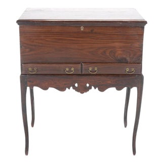 Rosewood Dutch Colonial Chest On Stand