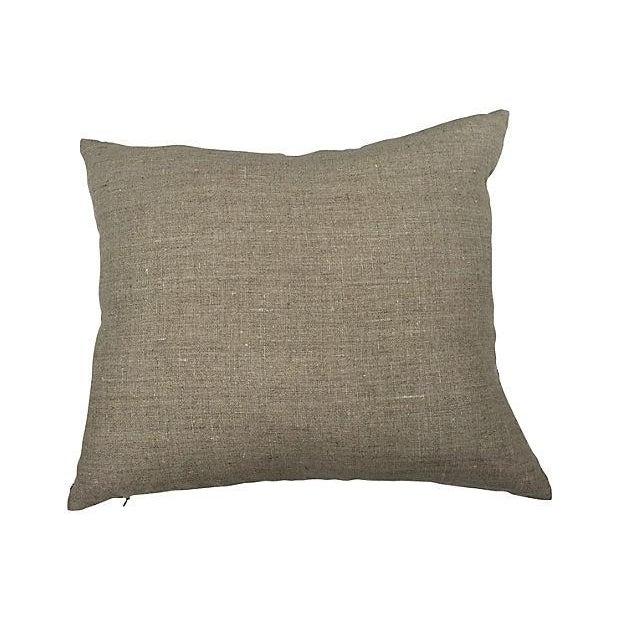Vintage Indigo Batik Pillows - A Pair - Image 3 of 3