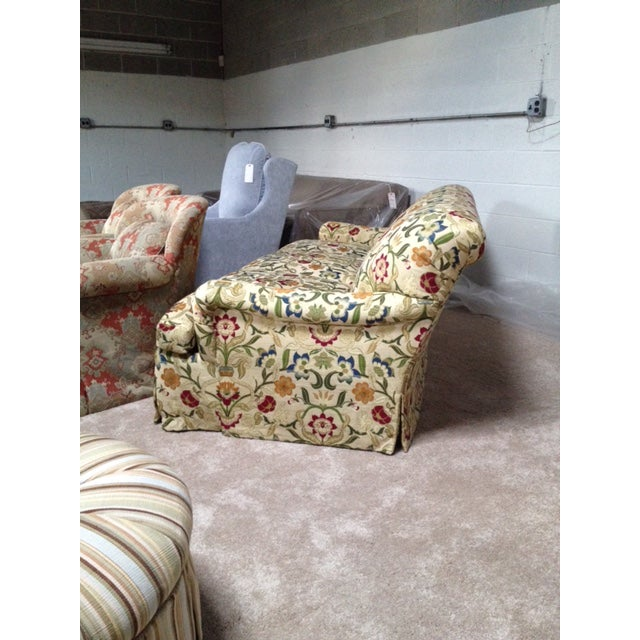 Portuguese Tapestry Upholstered Willis Sofa - Image 3 of 6