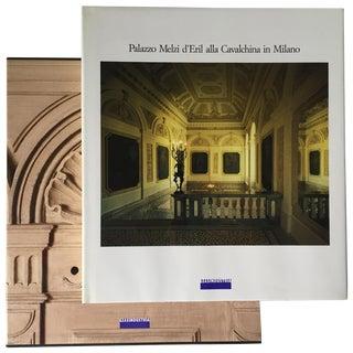 """""""Palazzo Melzi, Milano"""" Art & Architecture Book-1987"""