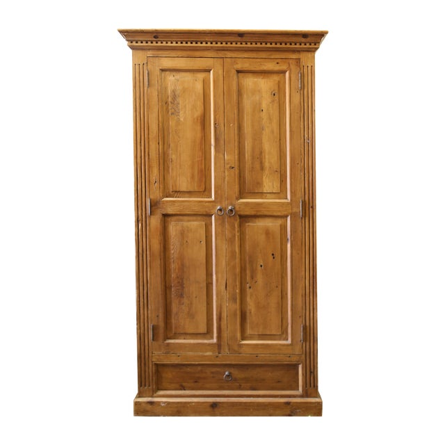 Pine Jelly Cabinet or Armoire - Image 1 of 4