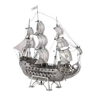 Knights of Malta Silver Plate Nef