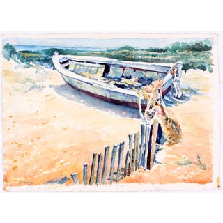 Fishing Boat on the Dunes