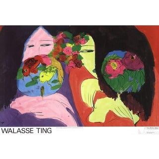 Walasse Ting Little Whisper Poster