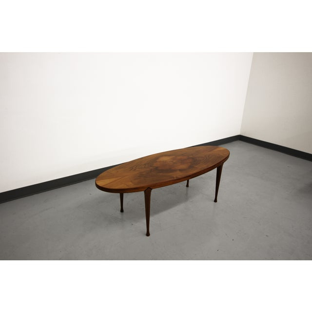 Mid-Century Surfboard Coffee Table Made in Norway - Image 3 of 8