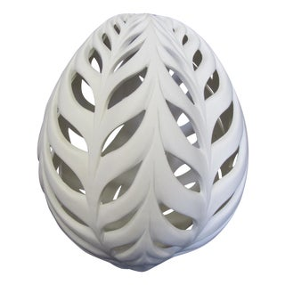 """Little Wheat Egg"" Ceramic Sculpture"