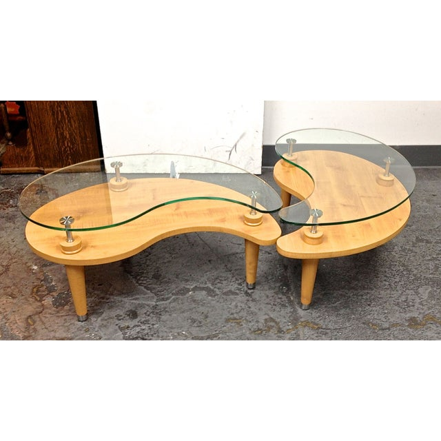 Ying Yang Tables A Set Chairish