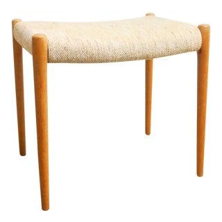 Mid-Century Danish Modern Footstool