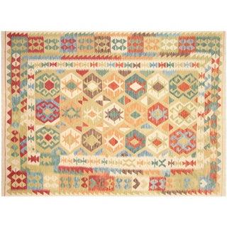 """Afghan Maimana Kilim Flatweave Rug -- 5'10"""" x 7'11"""""""