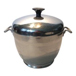Mid-Century Modern Insulated Ice Bucket