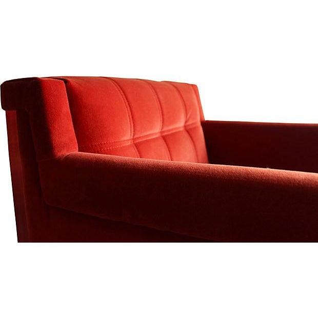 Mid-Century Milo Baughman Style Chairs - Pair - Image 6 of 10
