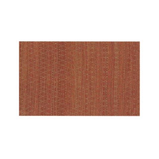 Moroccan Gold & Coral Flatweave Tochi Rug From Crate & Barrel