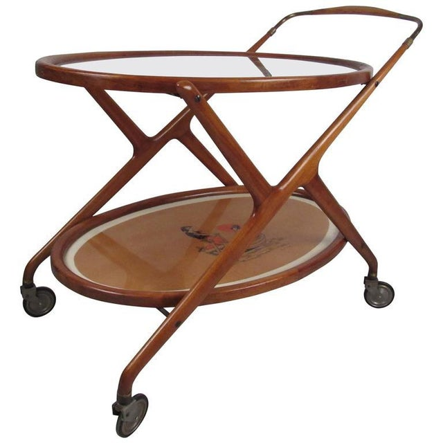 Italian Modern Serving Cart by Cesare Lacca - Image 7 of 9