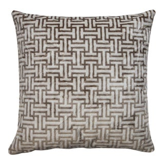"Piper Collection ""Buckle"" Pillow"