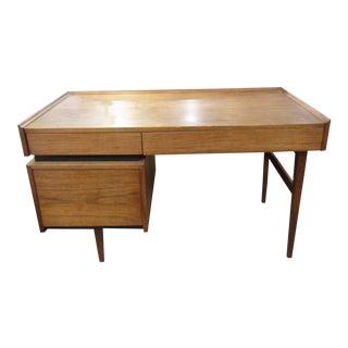Dillingham Esprit Walnut Mid-Century Desk
