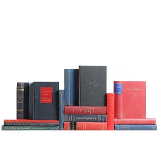 Kennedy Library: Sapphire & Scarlet Books - Set of 15