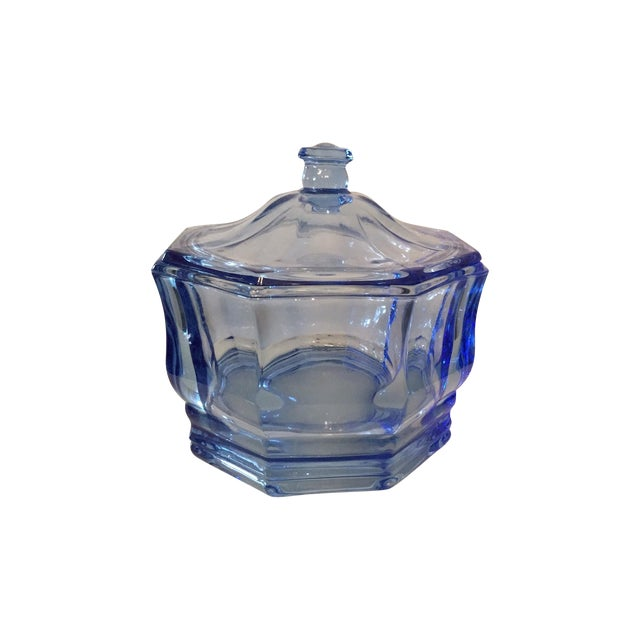 Image of Vintage Lidded Candy Dish or Catch All