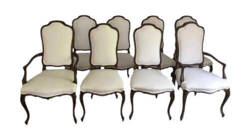 French Style Dining Room Chairs Set Of 8